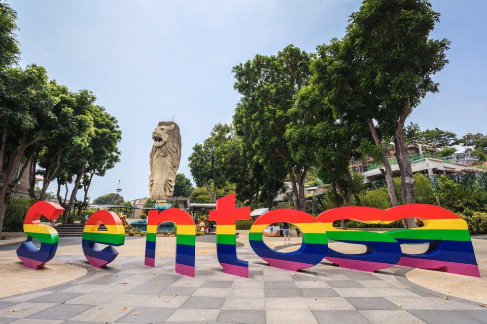Kawasan Wisata di Singapra, Sentosa